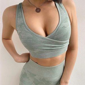 Other - Camo sports bra